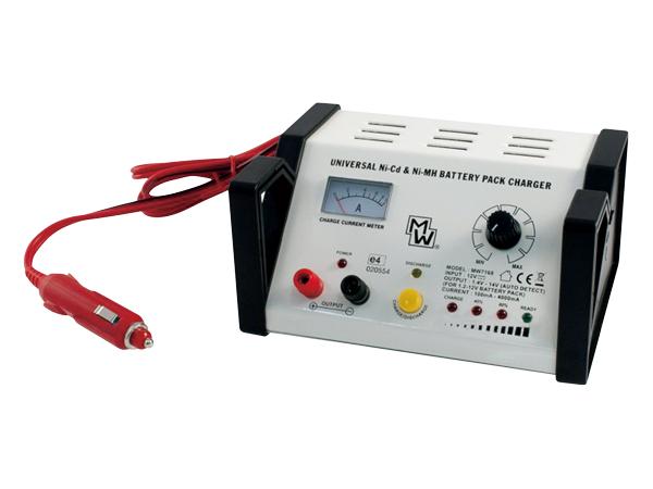Nabíjačka batérií MINWA MW7168 autom. 1-10x NiCd/NiMh (modelář.)(12V)