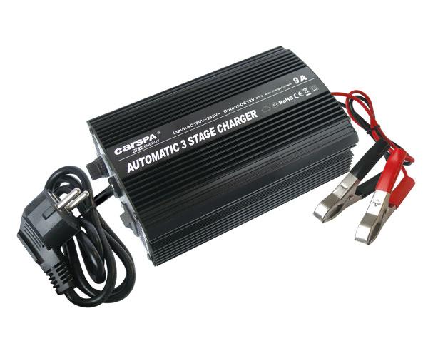 Nabíjačka akumulátorov CARSPA ENC1209 12V/ 9A (alternativa G500, 1K01, 1K02)
