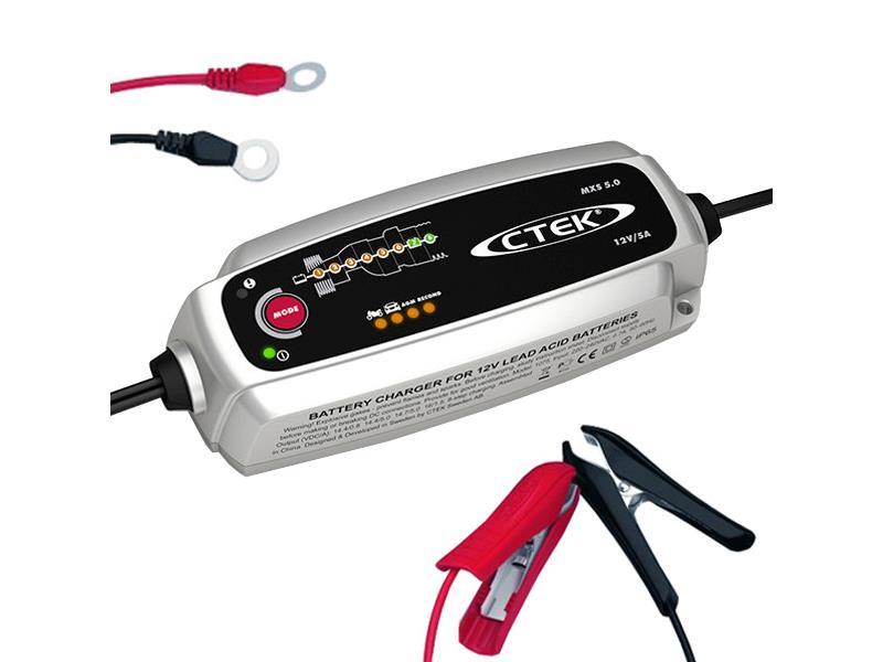 Nabíjačka akumulátorov CTEK MXS 5.0 12V 0.8A/5A s teplotným čidlom