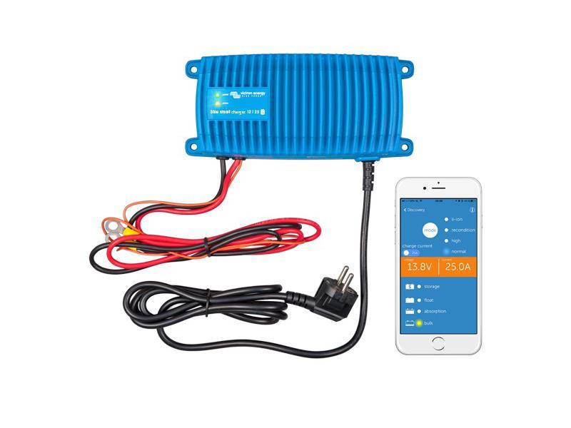 Nabíjačka batérií BlueSmart 12V / 17A IP67, vodotesná