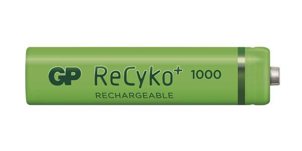 Batéria AAA (R03) nabíjecí GP Recyko+ 1000mAh