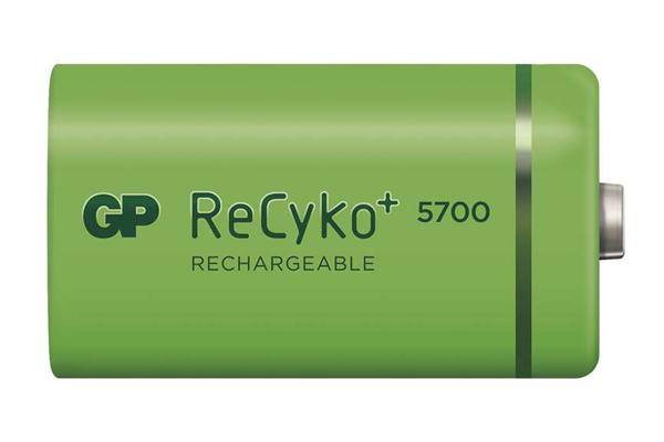 Batéria D (R20) nabíjecí GP Recyko+ 5700mAh