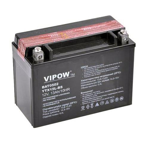 Batéria motocyklová 12V 13Ah VIPOW
