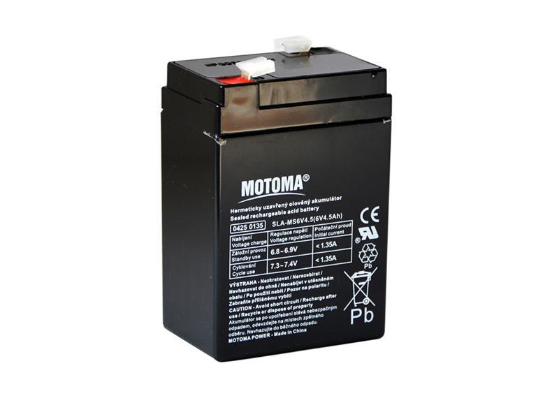 Batéria olovená 6V 4.5Ah MOTOMA