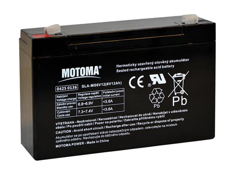 Motoma 6V 12Ah