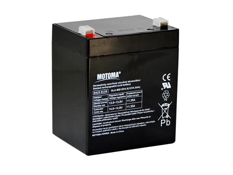 Batéria olovená 12V 4,5Ah MOTOMA
