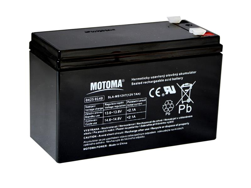 Batéria olovená 12V 7Ah MOTOMA