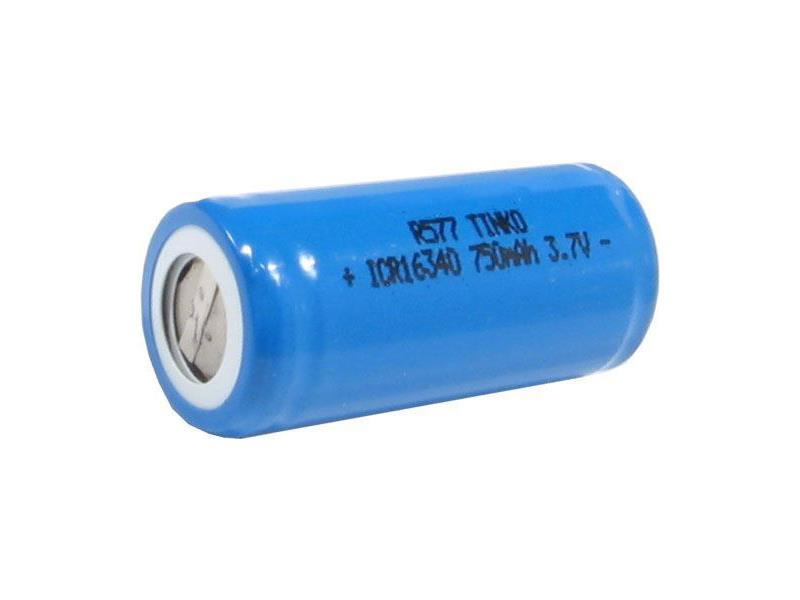 Batéria nabíjacia Li-Ion 16340 3,7V/750mAh TINKO
