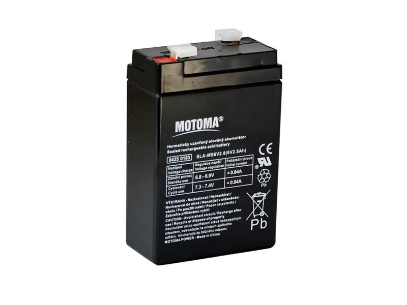 Batéria olovená 6V 2,8Ah MOTOMA