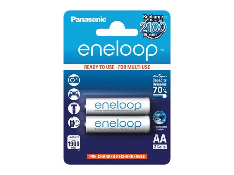 Batéria AA (R6) nabíjacia 1,2V/1900mAh Eneloop PANASONIC 2ks