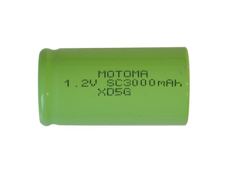 Batéria nabíjacie NiMH SC 1,2V/3000mAh MOTOMA
