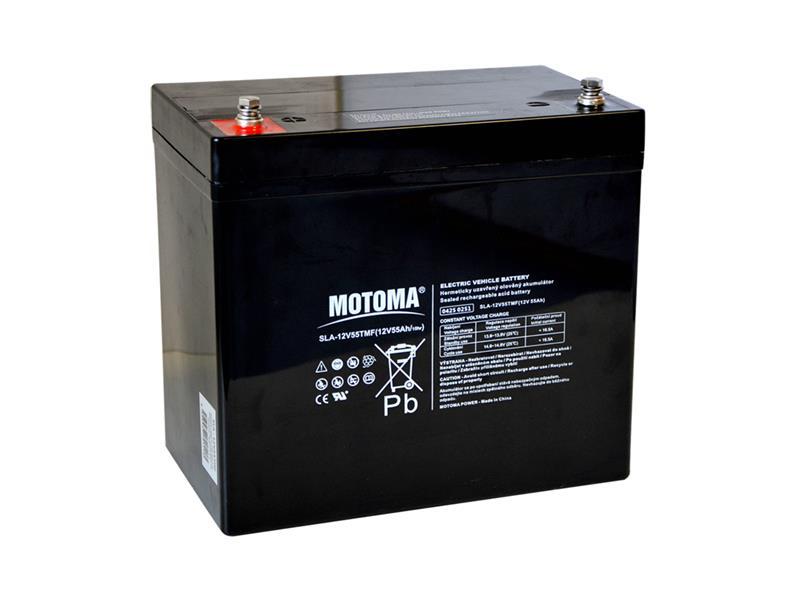 Batéria olovená 12V 55Ah MOTOMA pre elektromotory