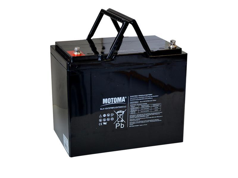 Batéria olovená 12V 75Ah MOTOMA pre elektromotory