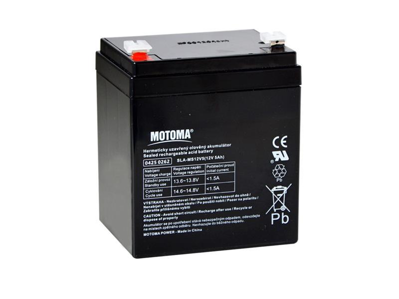 Batéria olovená 12V 5Ah MOTOMA
