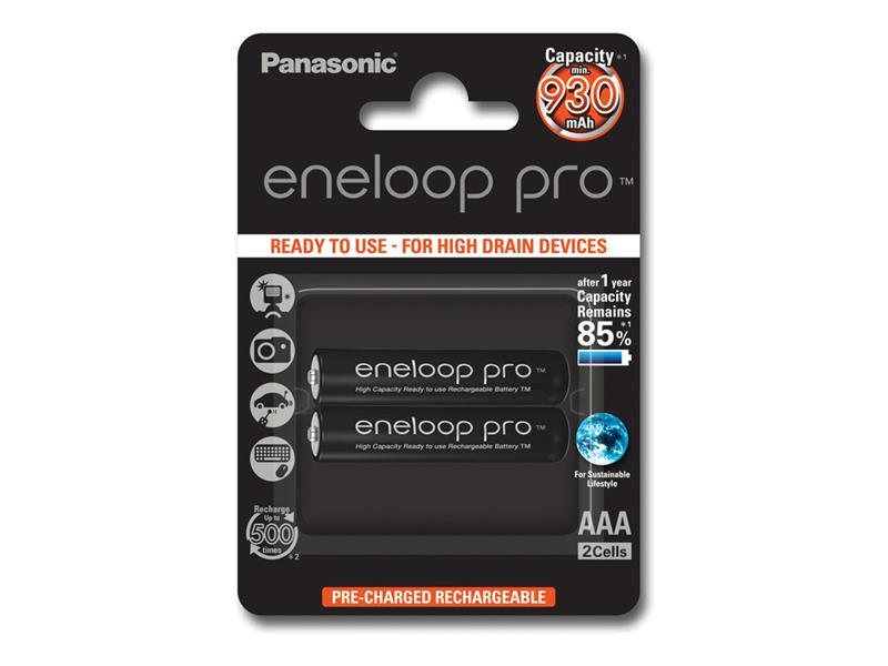 Batéria AAA (R03) nabíjacia 1,2V/930mAh Eneloop PANASONIC 2ks