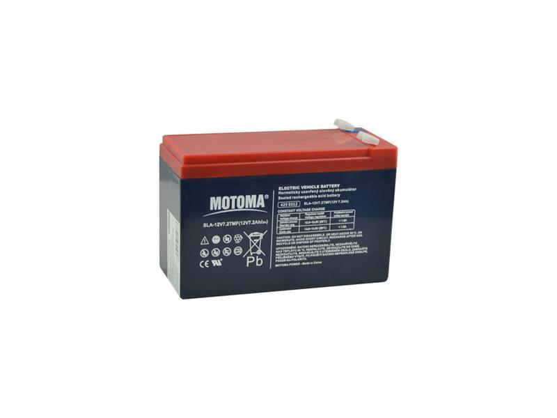 Batéria olovená 12V 7,5Ah MOTOMA pre elektromotory (bezúdržbový akumulátor)