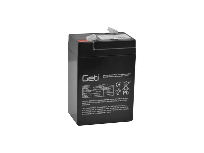 Batéria olovená 6V 4.5Ah Geti