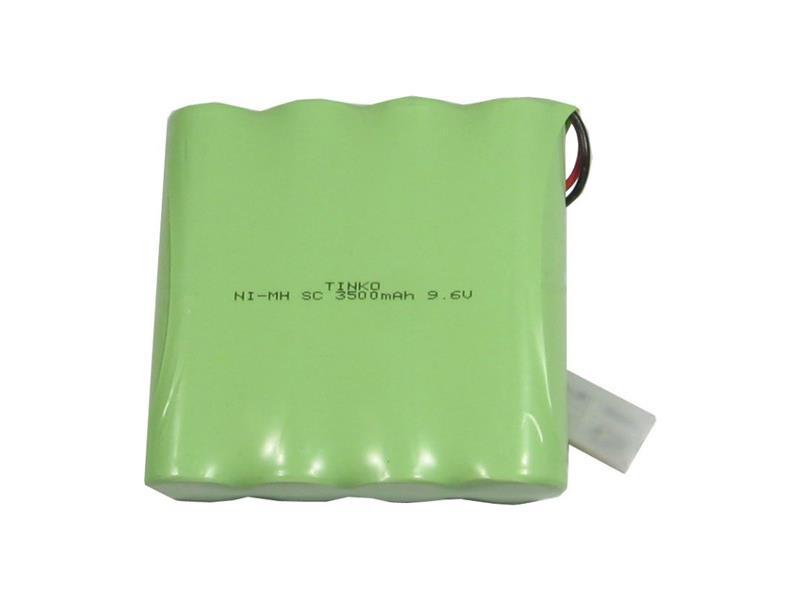 Akupack NiMH SC 9,6V/3500mAh TINKO 92x90x24mm