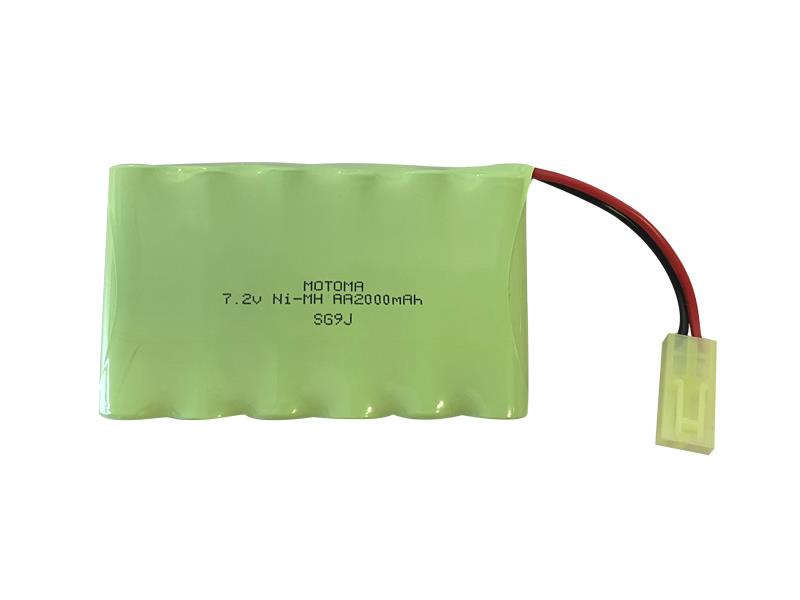 Batérie nabíjacie akupack Ni-MH 7,2V 2000mAh MOTOMA