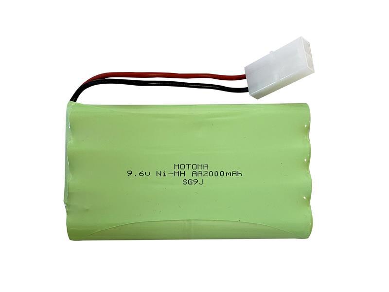 Batérie nabíjacie akupack Ni-MH 9,6V 2000mAh MOTOMA