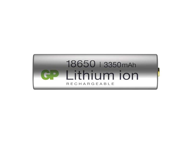 Batéria nabíjacia Li-Ion 18650 3,6V/3350mAh GP