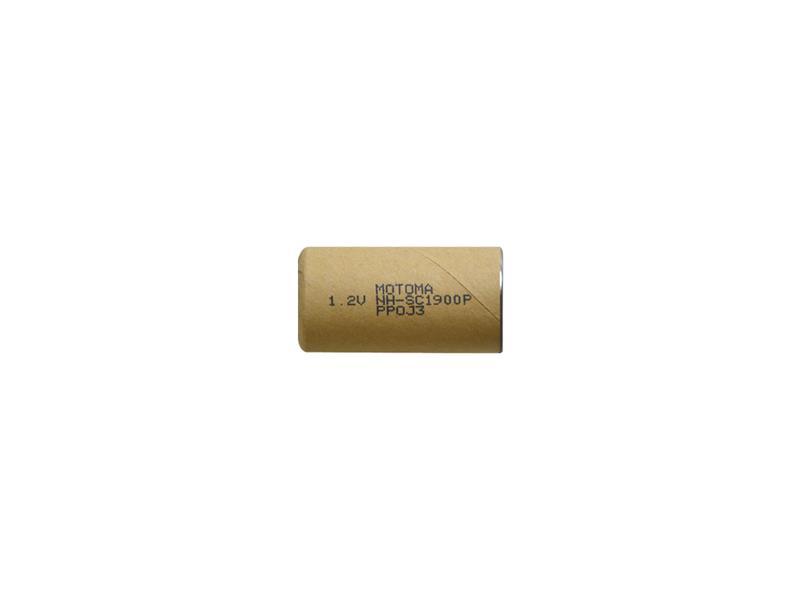Batérie nabíjacie NiMH SC 1,2V 1900mAh MOTOMA