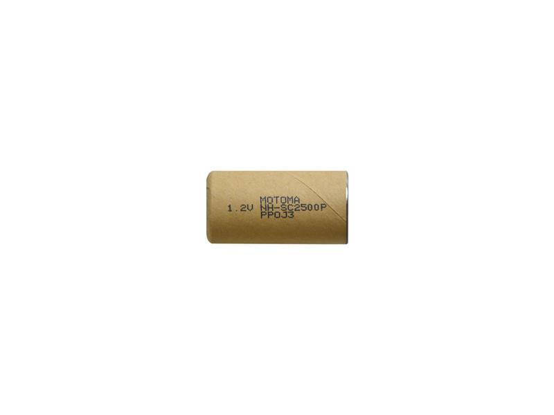 Batérie nabíjacie NiMH SC 1,2V 2500mAh MOTOMA