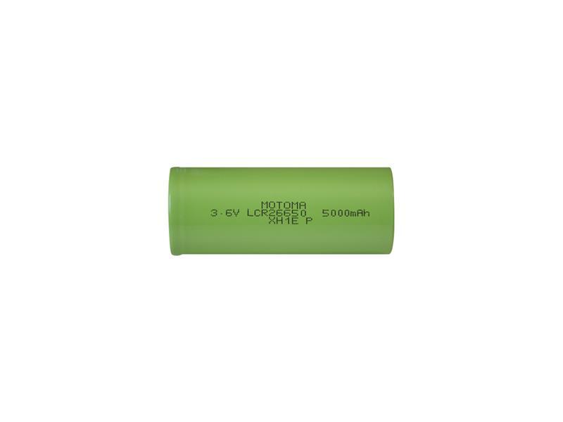 Nabíjacie batérie Li-Ion 26650 3,6V / 5000mAh 3C MOTOMA