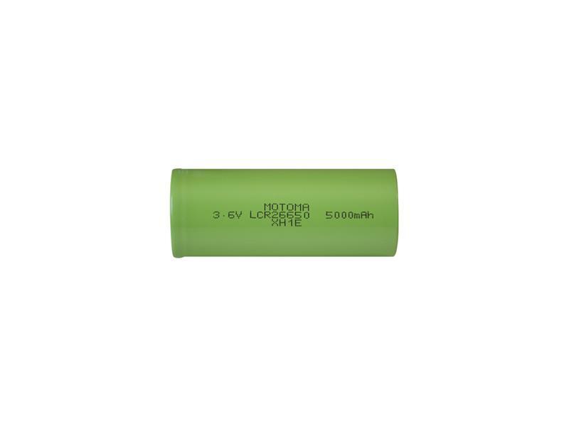 Nabíjacie batérie Li-Ion 26650 3,6V/5000mAh MOTOMA