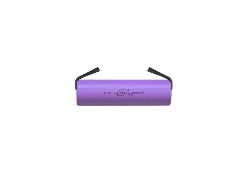 Nabíjacie batérie Li-Ion 18650 3,7V / 2000mAh 3C MOTOMA s pásikovými vývodmi
