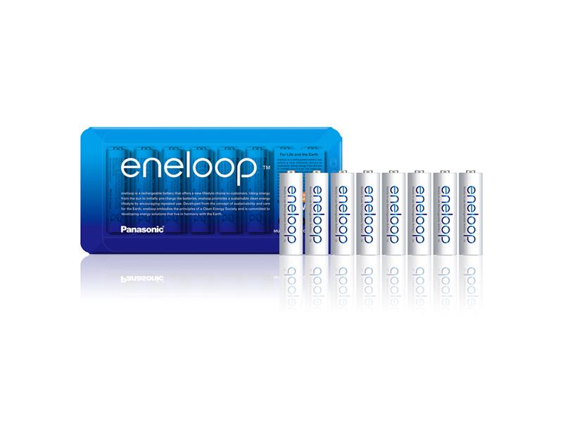 Batérie AA (R6) nabíjacie 1,2V/1900mAh Eneloop PANASONIC Sliding 8ks