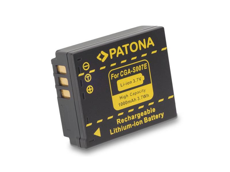 Batéria PANASONIC S007E 1000 mAh PATONA PT1043