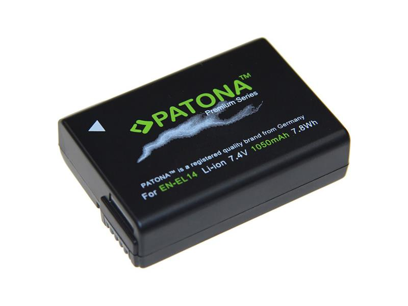 Batéria foto NIKON EN-EL14 1100mAh premium PATONA PT1197
