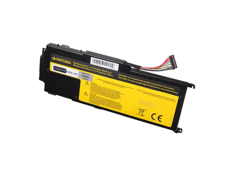 Batéria notebook DELL XPS 14Z 3920mAh 14.8V PATONA PT2483