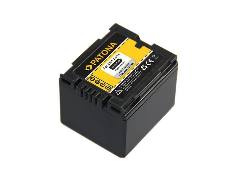 Batérie PANASONIC CGA-DU14 1400 mAh PATONA PT1045