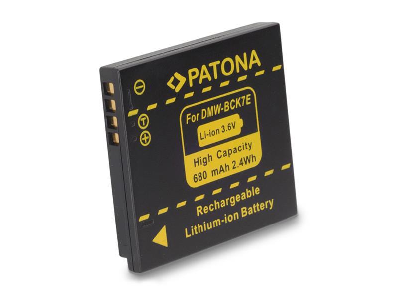 Batérie PANASONIC DMW-BCK7E 680 mAh PATONA PT1091