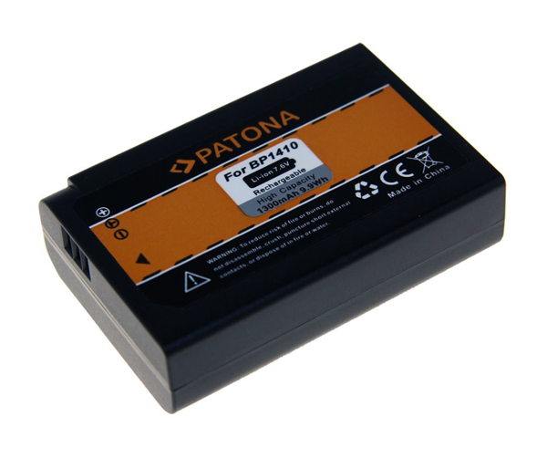 Batérie foto SAMSUNG BP1410 1300mAh PATONA PT1221