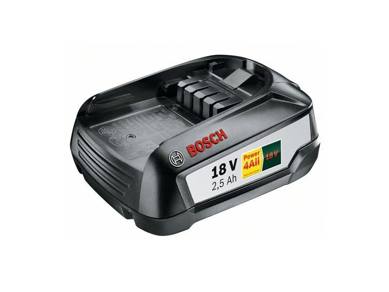 Baterie aku BOSCH 2500mAh 18V ORIGINÁL! zásuvný akumulátor W-B, 1600A005B0
