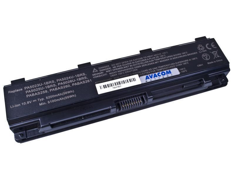 Toshiba Satellite L850 Li-Ion 10,8V 5200mAh/56Wh black AVACOM