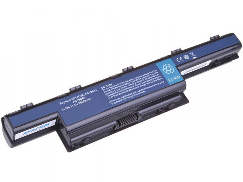 Acer Aspire 7750/5750, TravelMate 7740 Li-Ion 11,1V 7800mAh/87Wh AVACOM