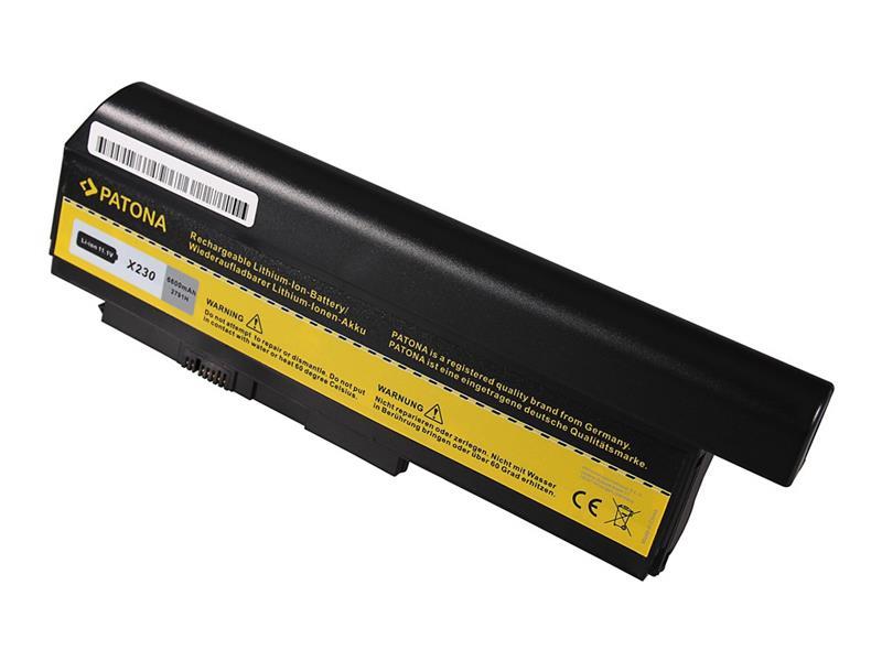 Batéria Lenovo ThinkPad X230/X220 6600mAh Li-Ion 10.8V PATONA PT2791