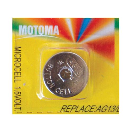Batéria alkalická AG13 (LR44) MOTOMA