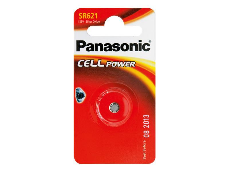 Baterie 364 PANASONIC do hodinek 1bp stříbrooxidová
