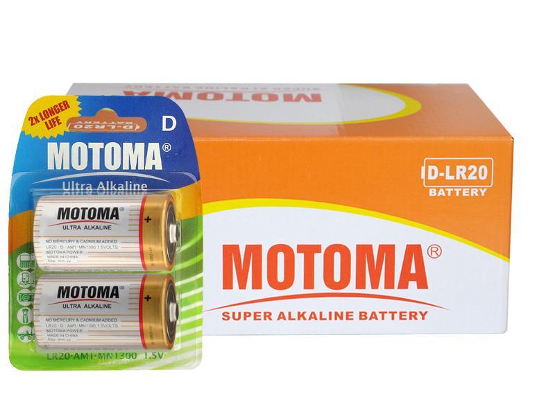 Balíček 24 ks D (R20) MOTOMA Ultra Alkaline