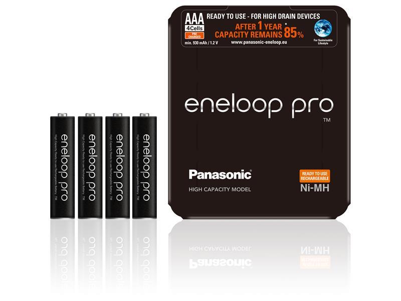 Batérie AAA (R03) nabíjacie 1,2V/930mAh Eneloop PRO Sliding P PANASONIC