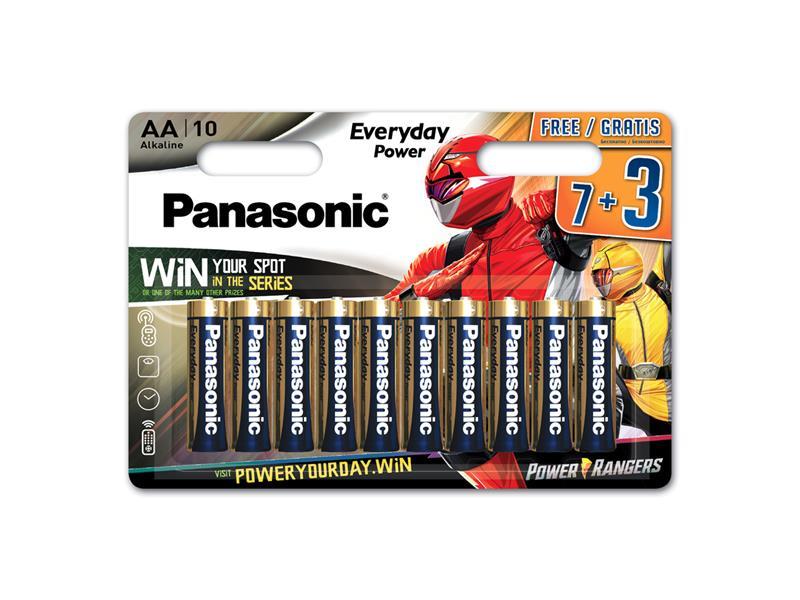 Batérie AA (R6) alkalická PANASONIC Everyday Power LR6 10BP