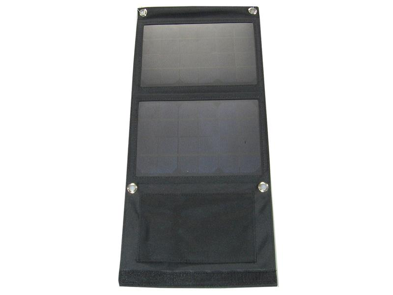 Fotovoltaický solárny panel 7W s USB, prenosný, skladací