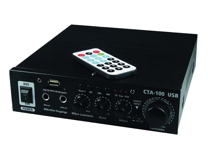 Zosilňovač TIPA CTA-100 USB