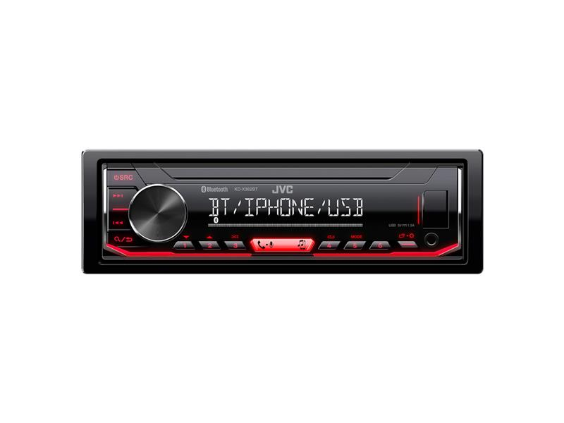 Autorádio JVC S BT / USB / MP3 KD-X362BT