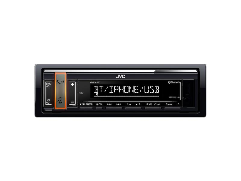 Autorádio JVC S BT / USB / MP3 KD-X361BT